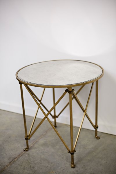 Gold Side Table Inventory Crush