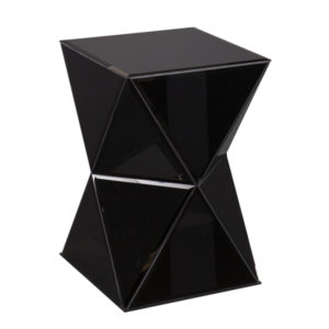 Black-mirrored-accent-table-crush-event-rentals